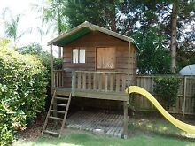 Wooden Cubby House, large, elevated with slide. Extras negotiable Castle Hill The Hills District Preview
