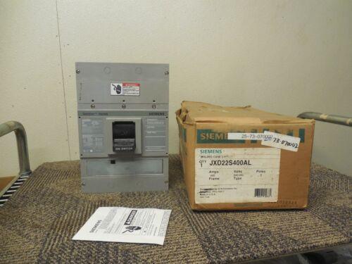 Siemens Jxd22s400al Jxd22s400a Molded Case Switch 400a A Amps 240/250v Volts 2p