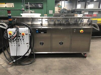 Zenith Sss-960 Ultrasonic Cleaner Strip Metal Parts Washer 2.5wide 2014