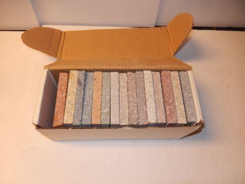 LOT of 15 Quartzitec Salesman Sample Tile Surface Plate Advertising