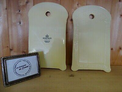 1 tartinière / planche à pain Royal Boch Vienne Vanille