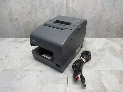 Epson Tm-h6000iv Pos Thermal Receipt Printer M253a W 24v Power Plus Cable