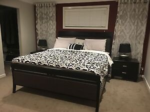 King size Bedroom suite in good condition Truganina Melton Area Preview