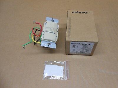 1 Nib Watt Stopper Pw-301-i Pw301i Pir Wall Switch Sensor 120277vac Ivory