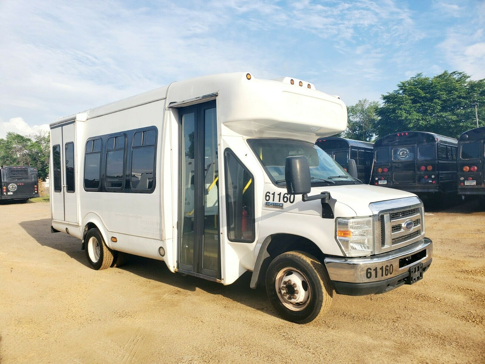 2012 Ford E450 Shuttle Bus - Runs Great!