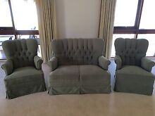 2 Seater Sofa with 2 Matching Armchairs Seaton Charles Sturt Area Preview