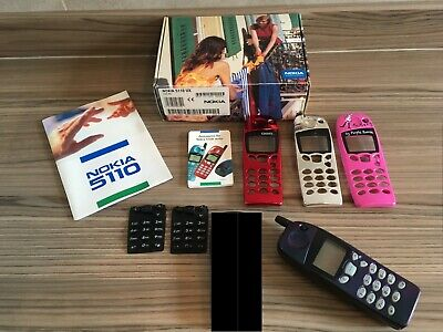 NOKIA 5110 Mobile Phone with Tiger Hologram Screen, 3 extra fascias & 2 keypads for sale  Shipping to South Africa