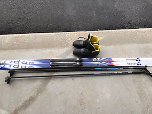 Fisher Cross Country Skiing Set