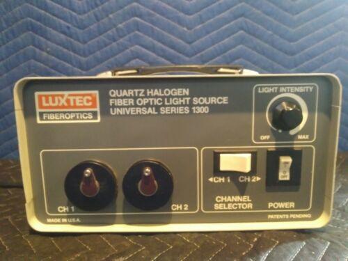 Luxtec Fiberoptics Quartz Halogen Fiber Optic Light Source Universal Series (A15
