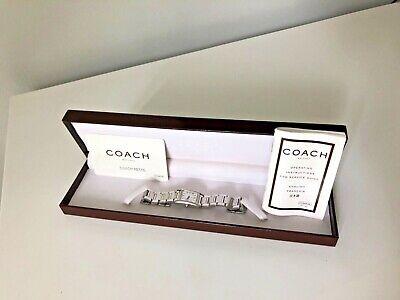 Women's Coach Stainless Steel Watch - Swiss / 0164-6016575