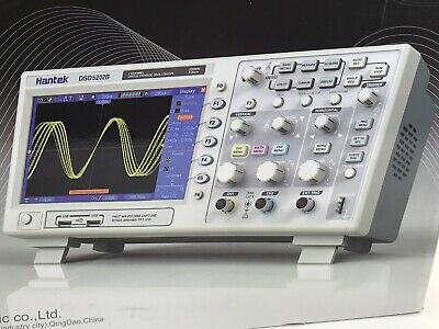 Hantek Dso5102p Usb Digital Storage Oscilloscope 2 Channels 100mhz 1gsas Usa