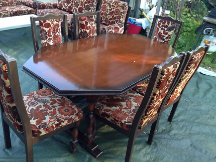 6 Seater dining table set $200 Bexley Rockdale Area Preview