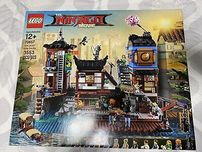 LEGO 70657 The LEGO Ninjago Movie - NINJAGO City Docks New Unopened NIB Retired