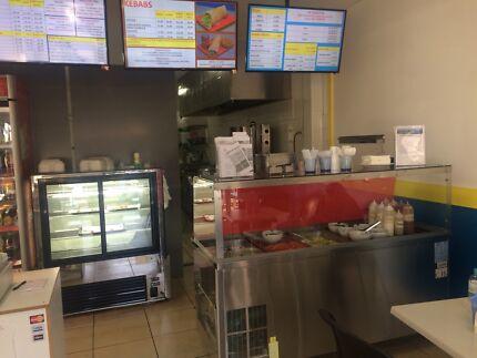 Takeaway/restaurant (kebab burger fish and chips) and Malaysian food
