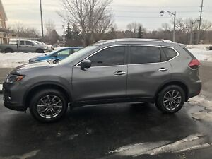Nissan Rogue winter tires and rims