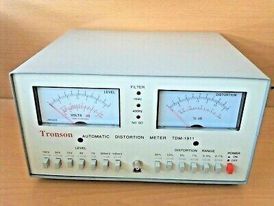 New Automatic Audiosignal Distortion Metervoltmeterhi Fi Tuningtester