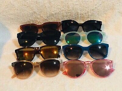 8 Pairs Of Womens Sunglasses Piranha Nectar Vivid View City Shades (Vivid View Sunglasses)
