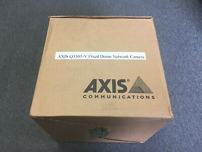 AXIS Q3505-V 9MM MkII Network Color Fixed Dome Security Camera 0872-001 (9mm Dome Camera)
