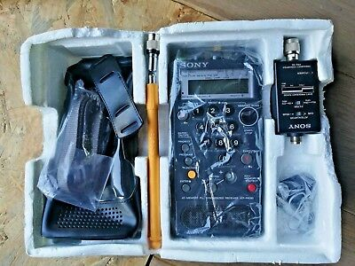 Sony ICF-PRO80 receiver boxed communication receiver/scanner AM/SW/FM/VHF for sale  Shipping to Nigeria