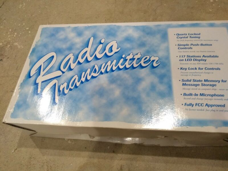 TALKING HOUSE RADIO TRANSMITTER - 5 MINUTE RECORDING MODEL TH 2