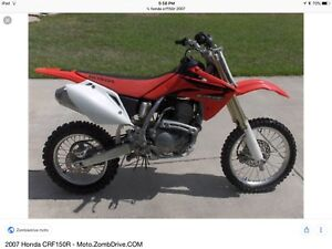Crf150r - wanted 2007 or newer