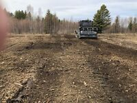 Mulching/land clearing logging cleanup