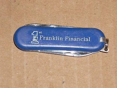 3 Multitool 2 1 4   Franklin Financial Pocket Knife 1  5 8  Blade Scissors File