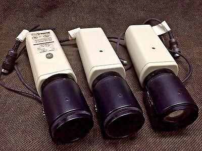 LOT 3 each Burle TC382 Color CCTV Surveillance/Security Camera