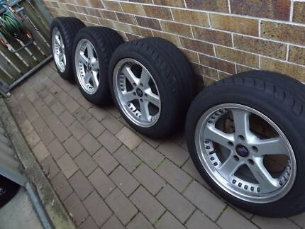 Nissan Skyline Alloy Wheels Cleveland Redland Area Preview