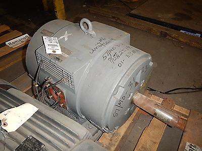30 Hp Westinghouse Electric Motor 1110 Rpm 326tz Frame Dp 460 V Design D
