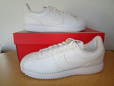 NIKE Cortez Men's Basic Leather Casual Athletic Shoes 819719-110 Medium - NWD