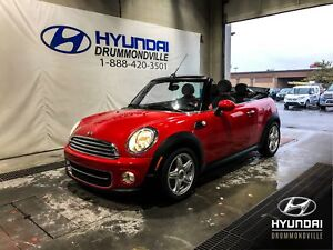 MINI COOPER CONVERTIBLE + MANUELLE + MAGS + WOW !