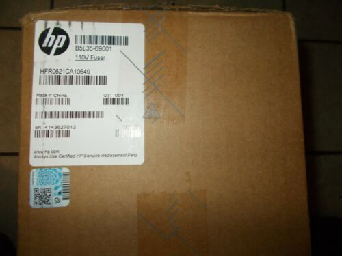 SEALED BOX! NEW! HP B5L35-67902, B5L35-69001, RM2-0011, 110V FUSER ASSEMBLY