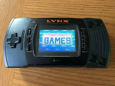 Atari Lynx 2 Handheld Console - Tested & Working - Great Shape