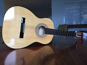 Valencia TC-30 3/4 Accoustic Guitar with Soft Carry Case Indented Head Outer Geelong Preview