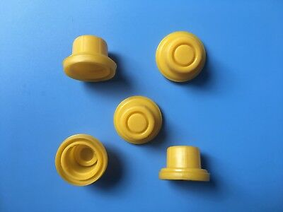 5 Blitz Yellow Spout Cap Fits Self-venting Gas Can Spouts 900302 900092 900094