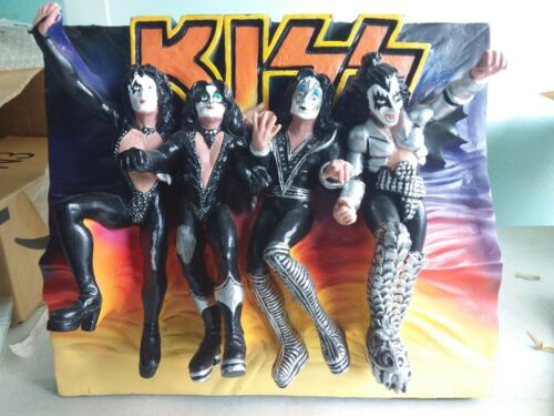 KISS Destroyer 3D wall or table Diorama top plague #2459 limited