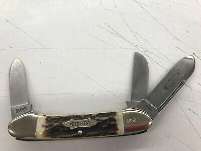 NKCA Club Knife NKC&DA 1977 Kissing Crane 1 of 5000