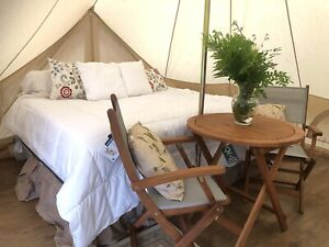 Waterfront cottage Glamping safari tent on beautiful island