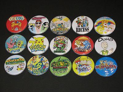 90's Cartoons Buttons/ Pins 15