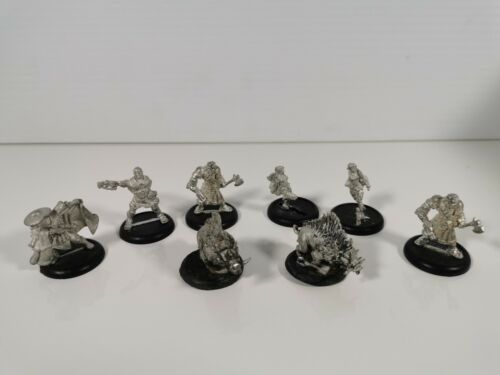 Warmachine hordes metal figurines lot