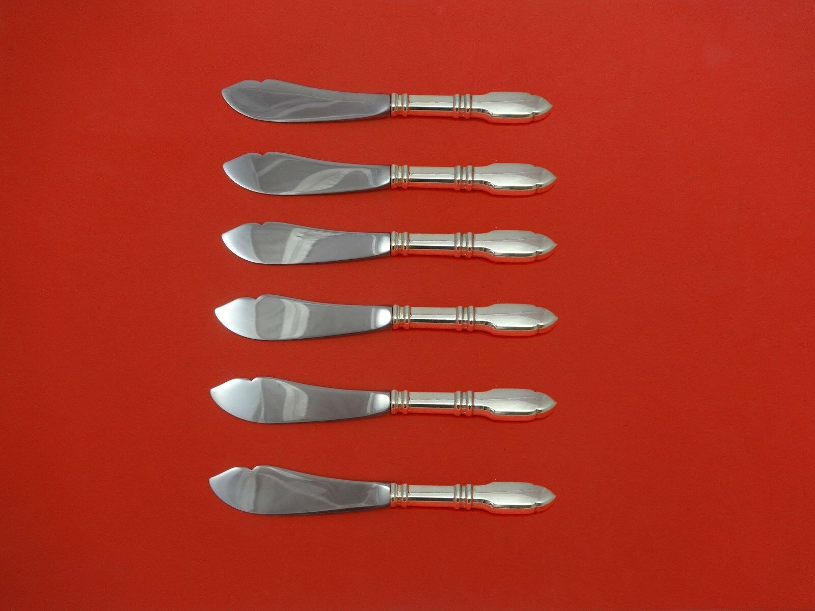 robert bruce by graff w amp d sterling silver trout knife set robert bruce by graff w d sterling silver trout knife set 6 pc custom 7 1 2
