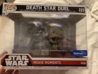 Star Wars Funko POP! Walmart Exclusive Death Star Duel 225 Movie Moment