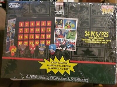 Funko Pocket Pop Advent Calendar Marvel New unopened