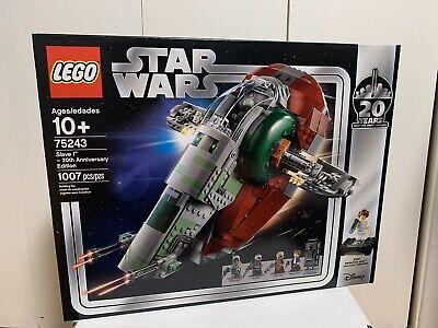 LEGO Star Wars Slave I - 20th Anniversary Edition Set (75243) Mint Condition