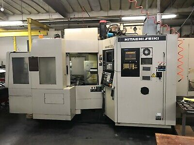 Hitachi Selki Hg400-3 Horizontal Mill 5 Axis