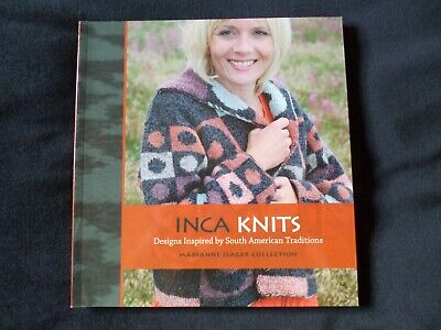 INCA KNITS Marianne Isager Collection NEW SLIGHTLY IMPERFECT SEE DESCRIPTION