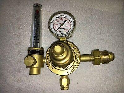 Victor Flow Meter Hsr 2570 Inert Gas Regulator Welding Gauge 3000 Psig