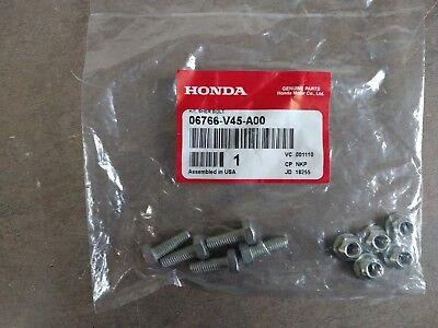New Genuine OEM Honda 06766-V45-A00 Shear Bolt Kit - Set of 5 HSS724 Snowblower