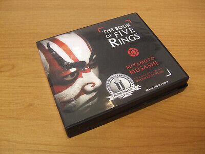 The Book Of Five Rings Audiobook CD Set Miyamoto Musahi Tantor 5 Audio Book
